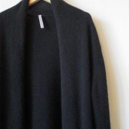 VCK-118 Robe knit (black)