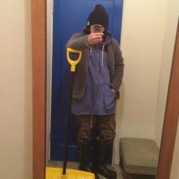 (イメージ比較)モデル:雪すかし店主 172cm,57kg/wash blue着用