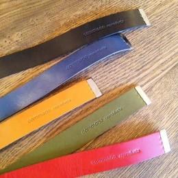 GI Belt (うえから)Black,Navy,Beige,Olive,Rad
