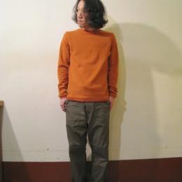 と、モデル:まねしんぼ(?)店主 172cm,57kg/着用サイズ:c1 (Renga着用)