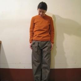 モデル:キミコさん 158cm/着用サイズ:c0 (Renga着用)