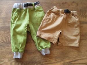 (ひだりから)KID'S COTTONWOOD CROPS,KID'S ROKX SHORT になります。