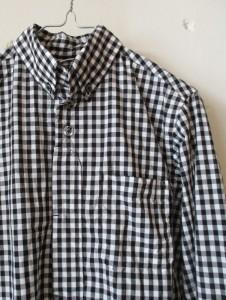 ボタンダウンシャツ (ギンガムチェック)