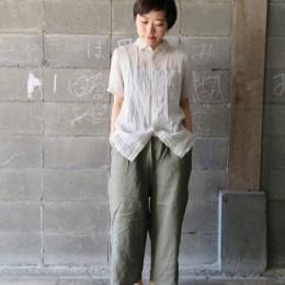 モデル:ユキちゃん 153.5cm/Beige着用