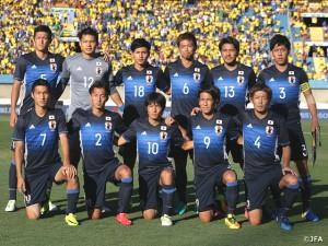 リオで勝負だ!がんばれ!!サッカー(男子)日本代表!!!。