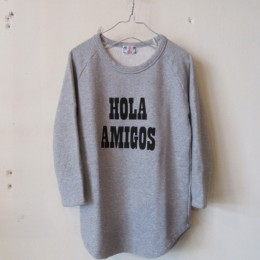 HOLA AMIGOS (杢グレー)