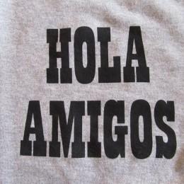 「HOLA AMIGOS= (やぁ!元気!!。)」