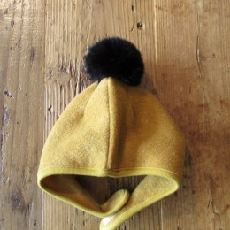 FLEECE HELMET (YELLOW)