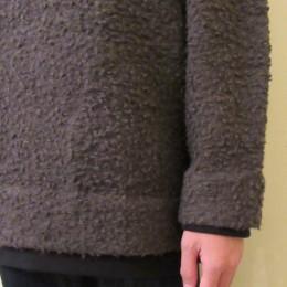 袖と裾はこんな感じです。