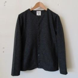 Jersey Collarless Jacket