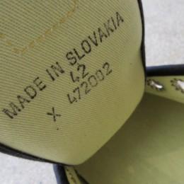 もちろん「MADE IN SLOVAKIA」でございます。