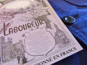 """豆知識。)「LE LABOUREUR」はフランス語で""""農夫""""の意味でそうですよ。"""