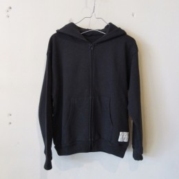 Zip Up Parka (Black)