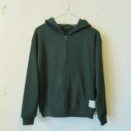 Zip Up Parka (Moss Green)