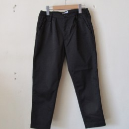 TUCK TROUSER (BLK)