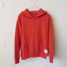 Zip Up Parka (Red)