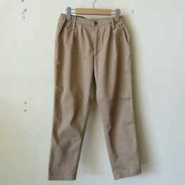 TUCK TROUSER (BEG)