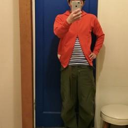 モデル:プレミアムじゃない(?)と感じた金曜日、の店主 172cm,57kg/着用サイズ:c1(Red着用)