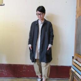 モデル:キミコさん 158cm/着用サイズ:1 (Blk着用)