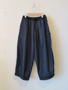 BALL PANTS -denim-