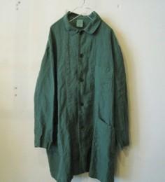 リネン 3PKT コート (Green)
