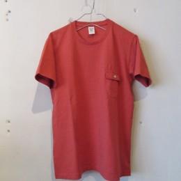 Pocket T-Shirt (Vermilion)