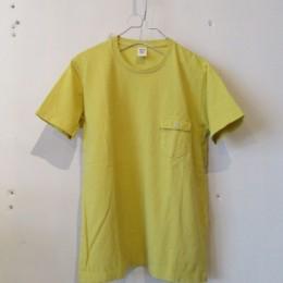 Pocket T-Shirt (Dull Yellow)