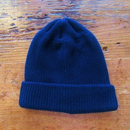 KNIT CAP (NAVY)