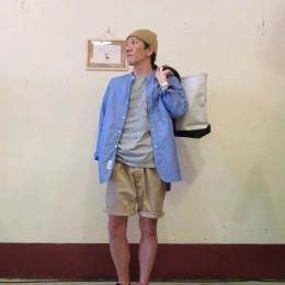 以上、モデル: 夏バテ(か?!)の、店主 172cm,57kg