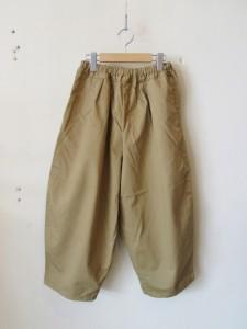 BALL PANTS -chino- (BEG)