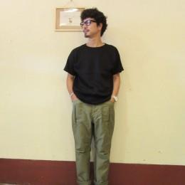 モデル:たっちゃん 169cm,56kg/着用サイズ:S