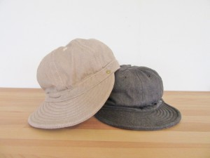 KOME CAP -TOP DENIM-