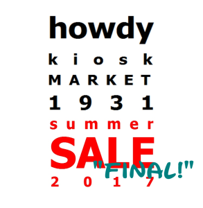 "hkm summer SALE "" FINAL! "" 2017"