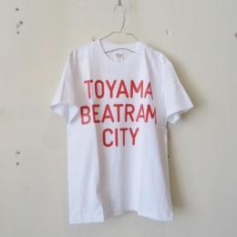 BEATRAM Tシャツ (白オレンジ)