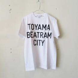 BEATRAM Tシャツ (白クロ)