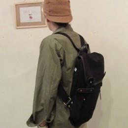 以上、モデル:ミルカを担いでミル、カ・・の、店主 172cm/Black着用