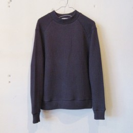 Waffle Midneck (Off Black)
