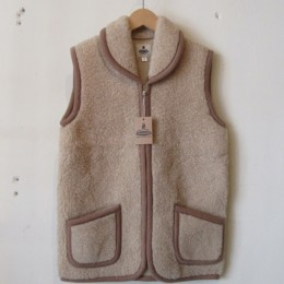 Fleece Vest (BEIGE)