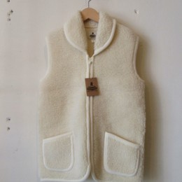 Fleece Vest (WHITE)