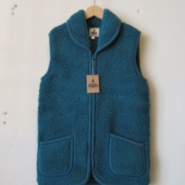 Fleece Vest (GREEN)