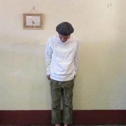 モデル:連休明け(奥目!?)の、店主 172cm,57kg/着用サイズ:2