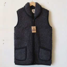 Fleece Vest (BLACK)