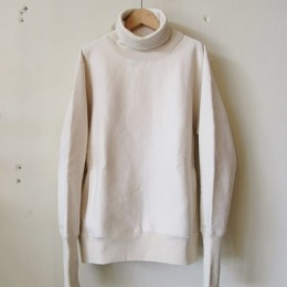 26/2 BD Turtle Neck Sweat (NATURAL)