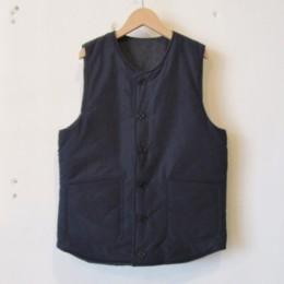 Reversible Pack Vest (DK.NAVY / A面)
