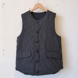 Reversible Pack Vest (CHARCOAL / B面)