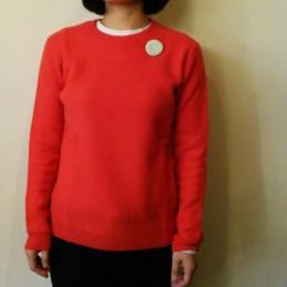 モデル:キミコさん 158cm/着用サイズ:1 (Red着用)