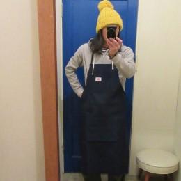 モデル:「今年の汚れ♪今年のう~ち~にっ!?」の・・店主 172cm,57kg/Blue Denim着用