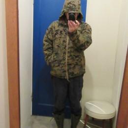 モデル:「HJBT(ハウディー除雪部隊)」・・の、店主 172cm,57kg