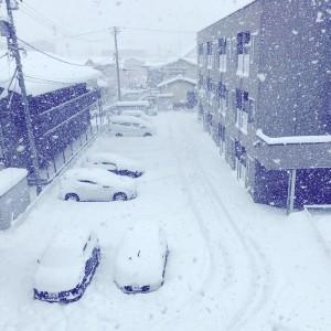 【画像】25日(木) 10:00現在の富山市石金付近の状況です。 (・・デ、デジャブか!?。)