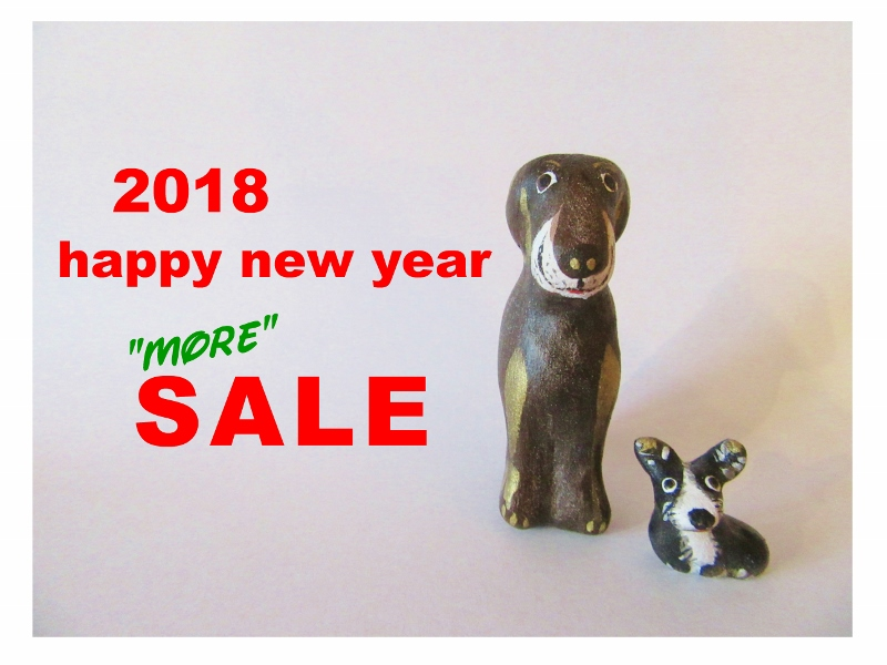 "2018 happy new year ""MORE"" SALE"